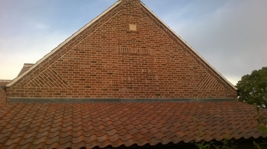 Gable End with Flemish Bond