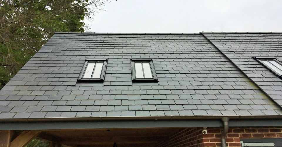 Slate roof with Conservation Rooflights home design and plans norfolk