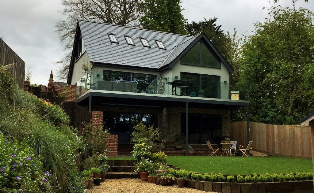 Norfolk Home designed by us.