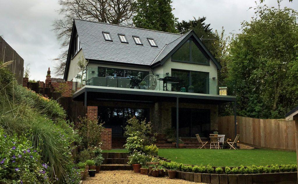 Norfolk Home designed by us.