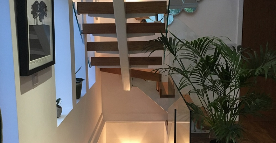 Modern Stairs Design North Norfolk